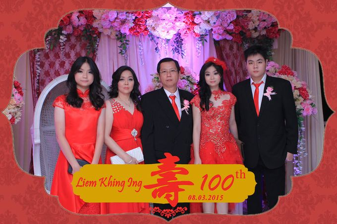 One Hundred Birthday of Liem Khing Ing by After 5 Photobooth - 002