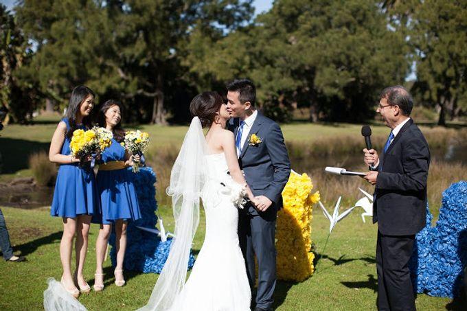 Sunshine outdoor wedding by SS Florist - 010