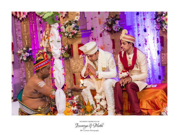 Wedding of Ishwariya & Mathi by DR Creations - 010