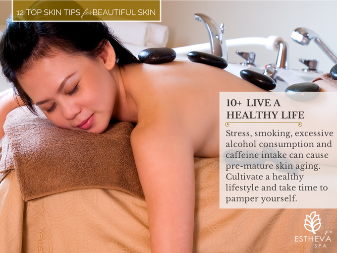 Top 12 Skincare Tips for Beautiful and Younger Skin by ESTHEVA Spa - 011