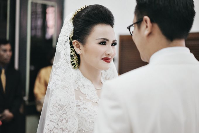 Togi & Jesicca - Holy Matrimony & Batak Ceremony by JAYSU Weddings by Jacky Suharto - 010