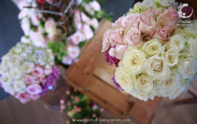 A sweet ending to a new beginning by Orchid Florist and Decoration - 019