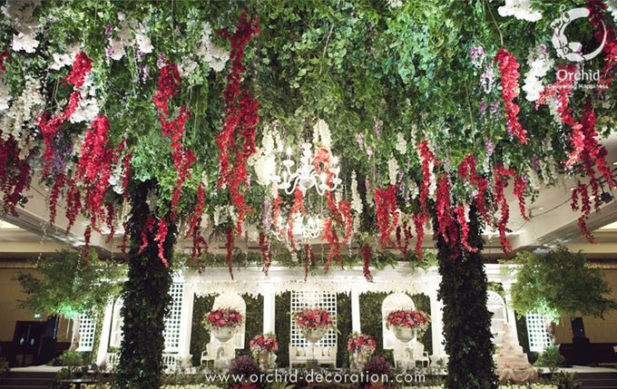 Life began in a garden by Orchid Florist and Decoration - 011