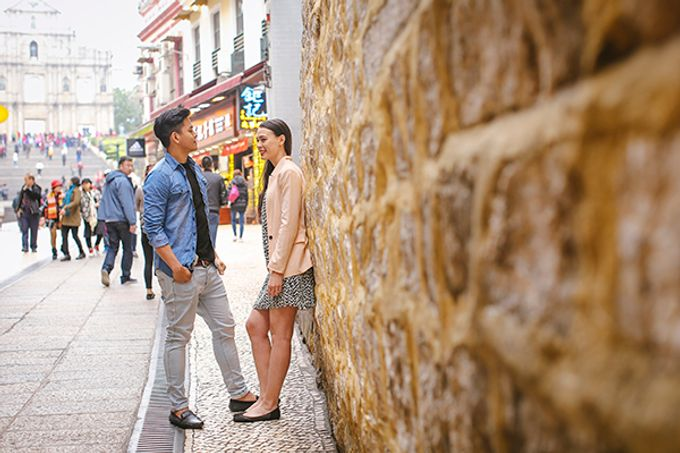 Silver and Jenn Macau Engagement Session by Leighton Andante - 012