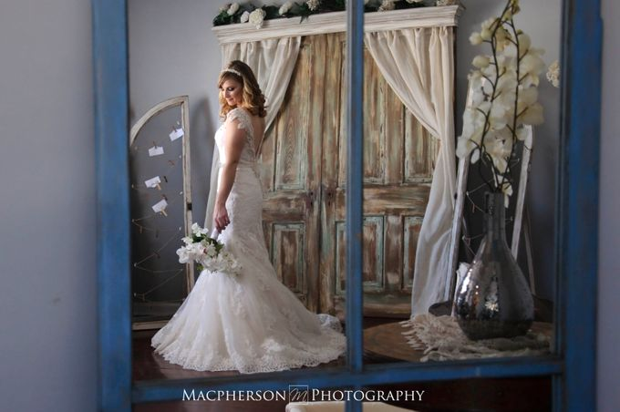 Vintage Wedding Styled Shoot by Macpherson Photography - 001