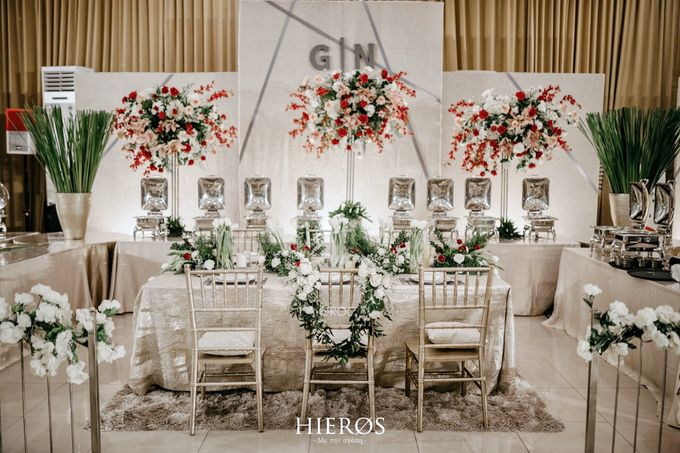 Simple Meets Elegant in This Dreamy Wedding Celebration by Elior Design - 025
