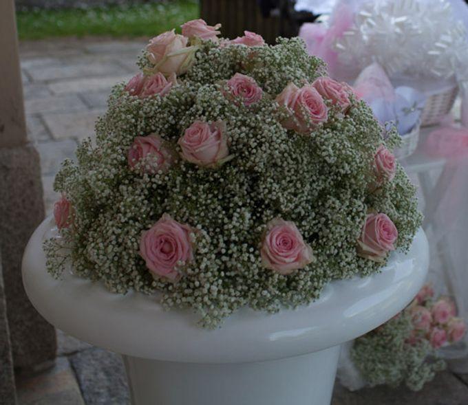 Romantic light pink wedding by Sogni Confettati - 017