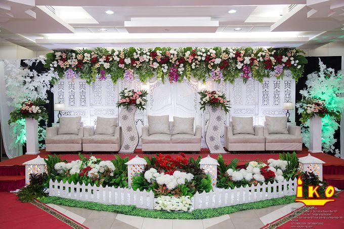 Dekorasi Pelaminan by IKO Catering Service dan Paket Pernikahan - 021