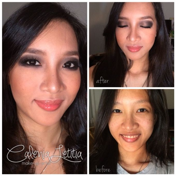 Before - After Makeup by Calenia Letitia Makeup Artist - 006