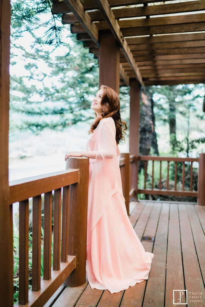 A Peach Themed Tagaytay Woodlands Wedding of Tina & Niel by Peach Frost Studio - 005
