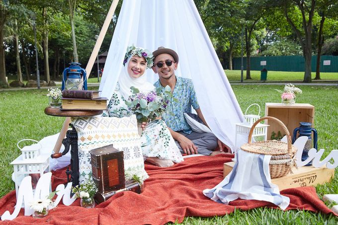 Picnic Wedding at the Park by Megu Weddings - 011