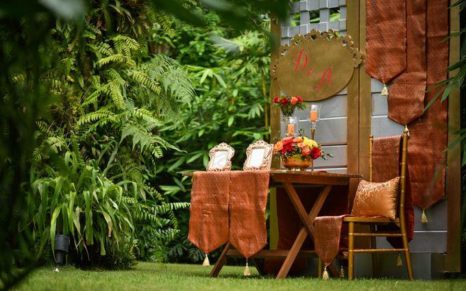 Minangkabau Traditional wedding set up at The Glass House by Tirtha Bali - 011