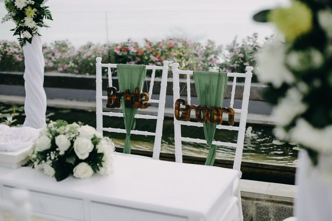 Chad and Lia Wedding by Jimbaran Bay Beach Resort and Spa - 009