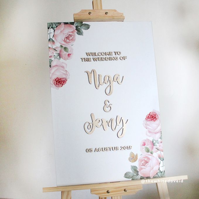 Wedding Sign by The White Dove - 002