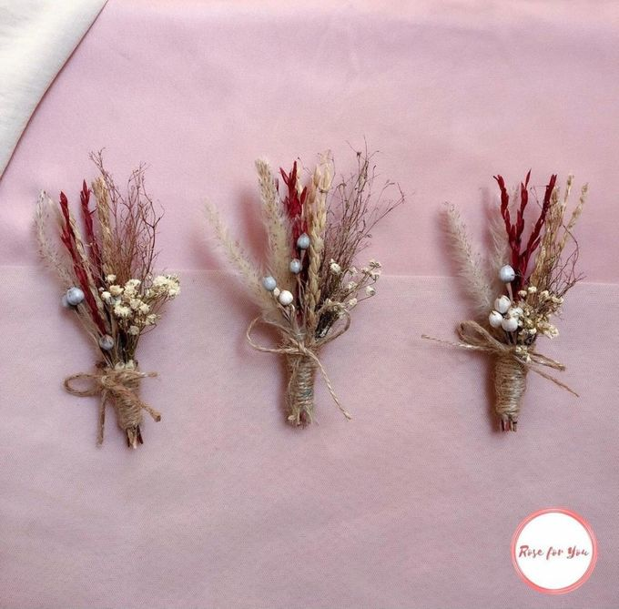 Boutonniere & Corsage by Rose For You - 011