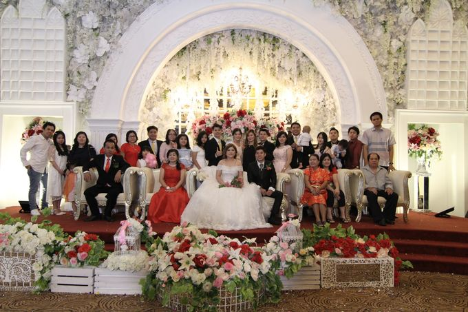 Wedding party of David and Shu Li at Angke Restaurant by Angke Restaurant & Ballroom Jakarta - 012