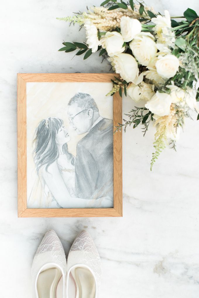 The perfect watercolor painting, Gwan & Tiffany. by Namasa Portraire - 010