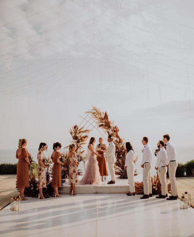 Nicole & Danielle Wedding by Debali Organizer - 001