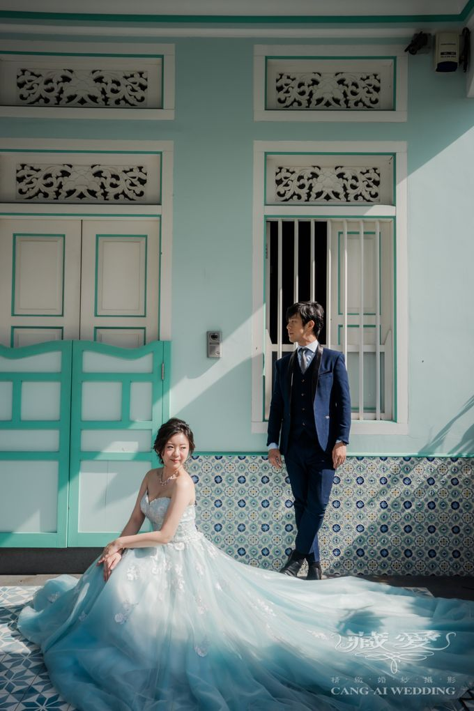 On the casual street by Cang Ai Wedding - 003