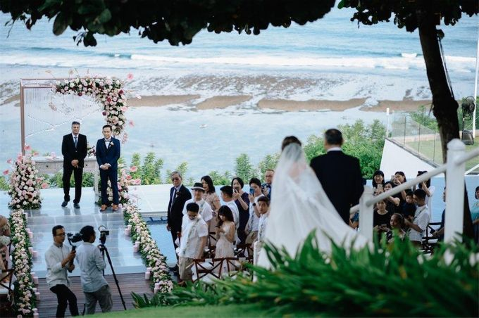 The Wedding of Donald & Larissa by BDD Weddings Indonesia - 011