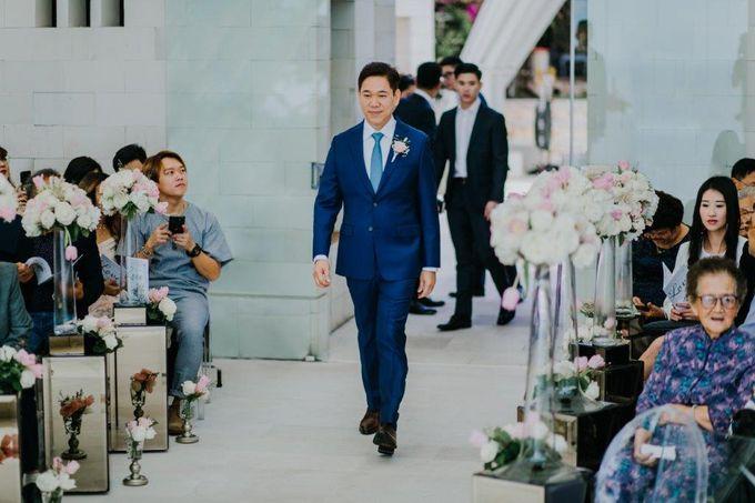 The Wedding of Larrie & Vivienne by BDD Weddings Indonesia - 011