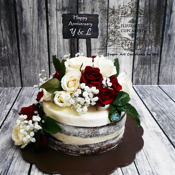 Engagements & Wedding Cakes by Fleur Bites Cupcakery - 008
