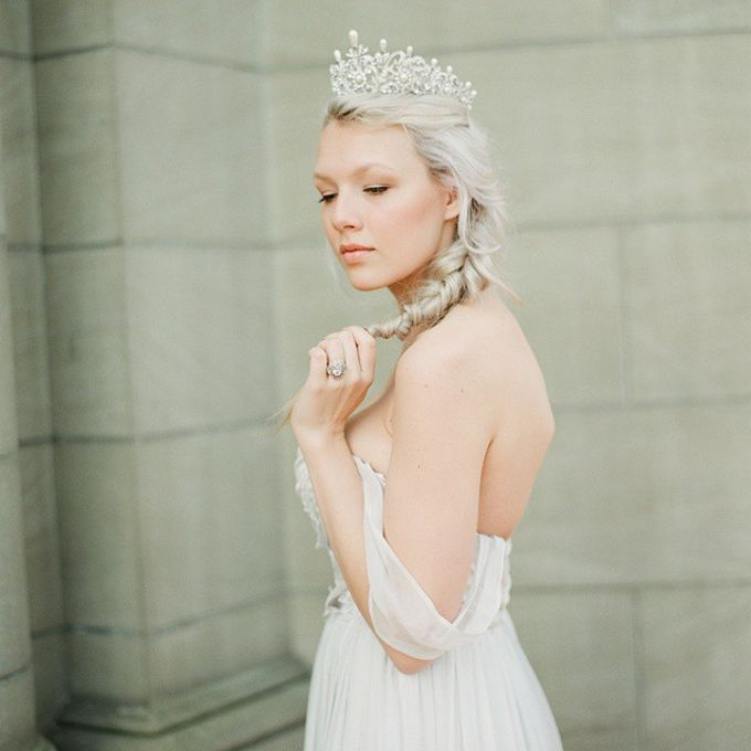 Regal Bridal Crowns and Tiaras and Headpieces by Eden Luxe Bridal - 042