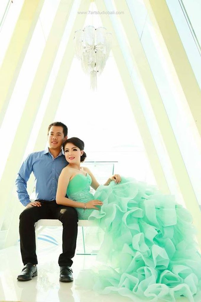 Hendry Linda Prewedding by 7 Arts Studio Bali - 030