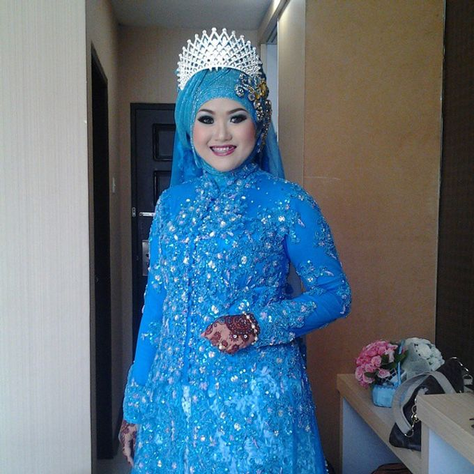Wedding dik Putri by OCIE Mua - 002