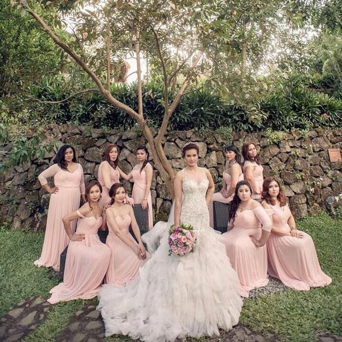 Customized Bridesmaids Dresses by White Label Bridal - 006