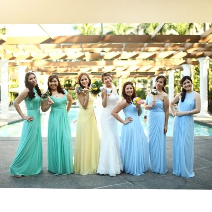 Customized Bridesmaids Dresses by White Label Bridal - 004