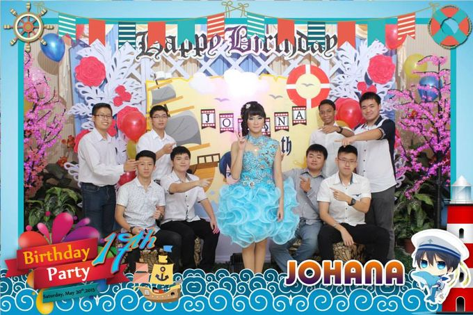 Sweetseventeen Johana Birthday Photobooth by Dinasty Photobooth - 006