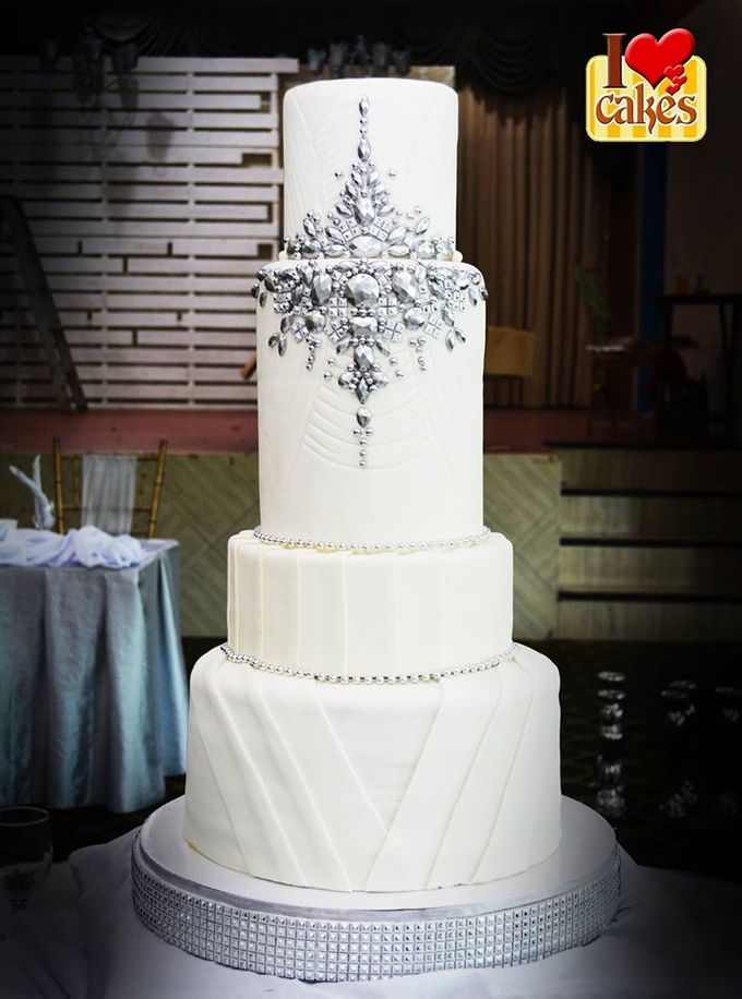 Wedding Cakes by I Love Cakes - 015