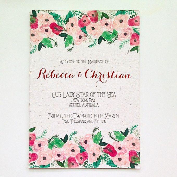 Rebecca & Christian by Little Paper Lane - 003