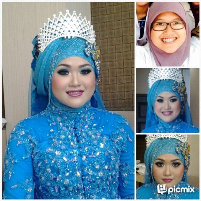 Wedding dik Putri by OCIE Mua - 001
