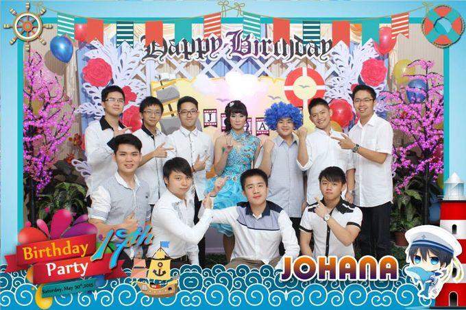Sweetseventeen Johana Birthday Photobooth by Dinasty Photobooth - 005