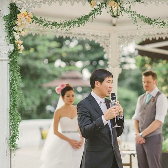 A Little Rustic  A little Vintage  A little Classy Wedding Ceremony at Alkaff Mansion by Regina Mae Fleurs Atelier Pte Ltd - 010