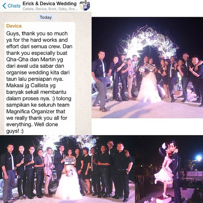 Rustic Style Wedding - Erick & Devica by Magnifica Organizer - 002
