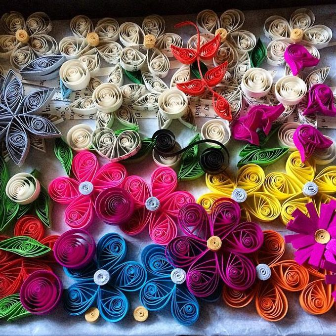Paper Flowers by Passionately Handmade - 007