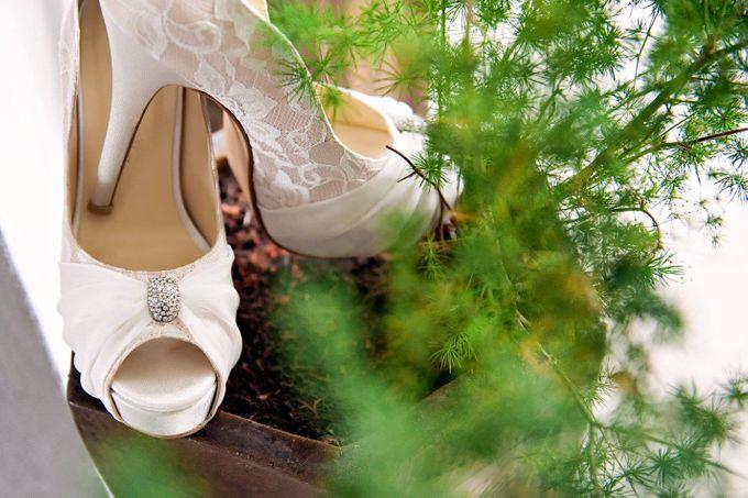 Bridal Shoe Close Ups by Christy Ng Shoes - 019
