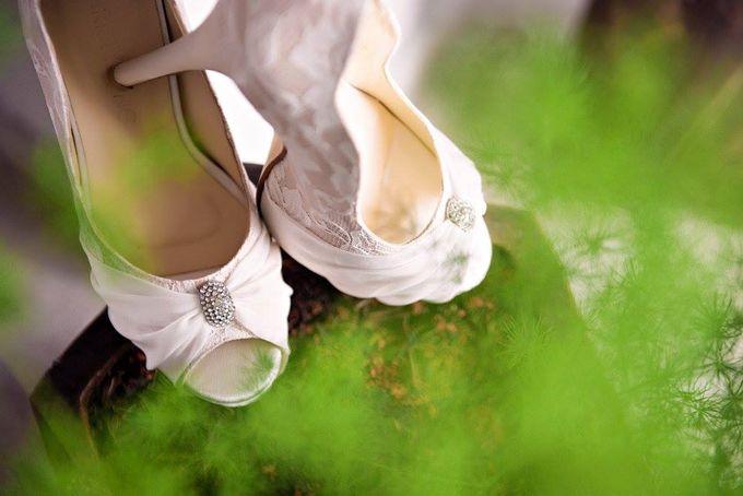 Bridal Shoe Close Ups by Christy Ng Shoes - 020