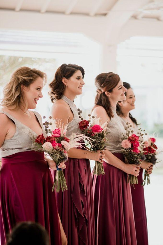 Wedding Niken & Luke by Bali Izatta Wedding Planner & Wedding Florist Decorator - 009