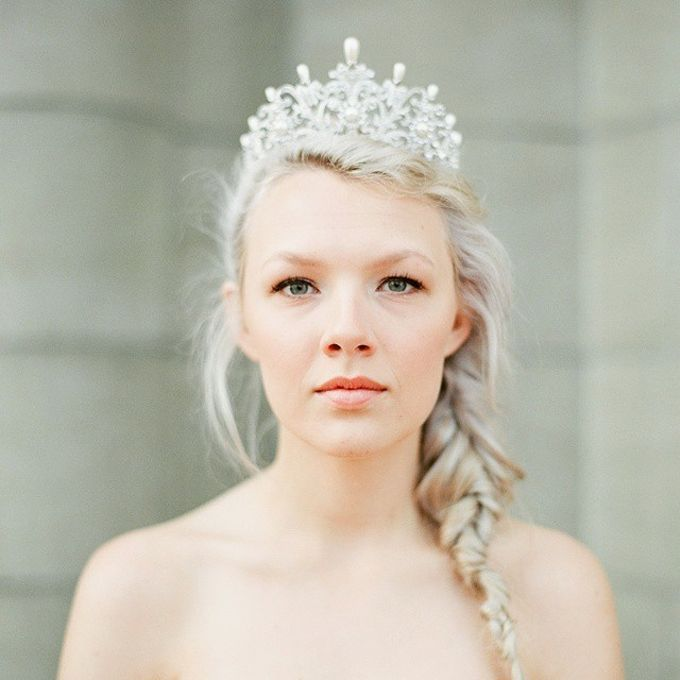 Regal Bridal Crowns and Tiaras and Headpieces by Eden Luxe Bridal - 041