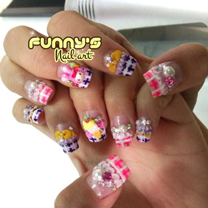 Thanks May 2015 by Funny's Nail art - 039