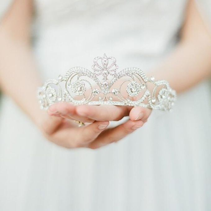 Regal Bridal Crowns and Tiaras and Headpieces by Eden Luxe Bridal - 043