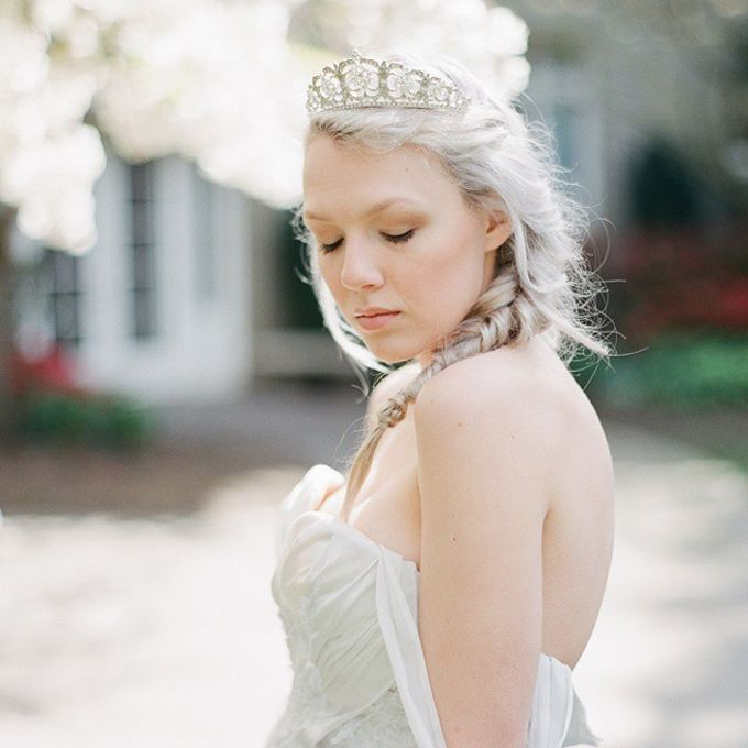 Regal Bridal Crowns and Tiaras and Headpieces by Eden Luxe Bridal - 039