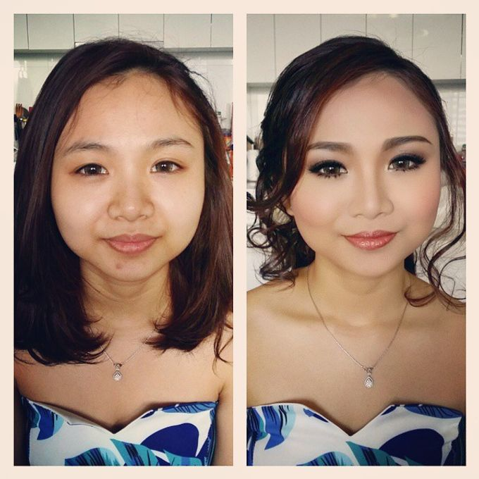 Before and After by Elly Liana Makeup Artist - 005