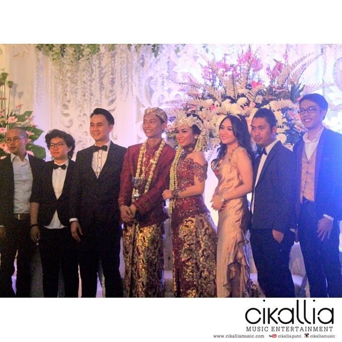 Sena & Roni Wedding by D&D Professional Make Up Artist & Kebaya By Dindin Nurdiansyah - 001