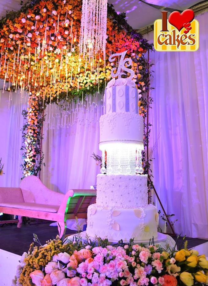 Wedding Cakes by I Love Cakes - 016