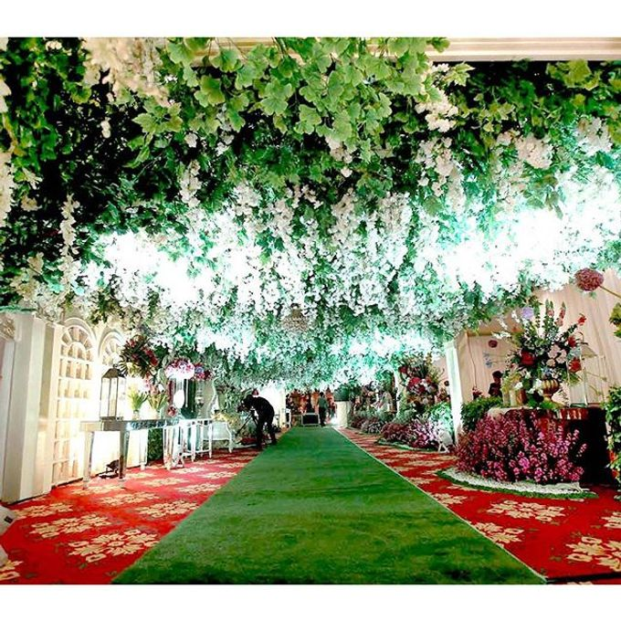 Modern Wedding of Indah and Hazieq by Watie Iskandar Wedding Decoration & Organizer - 009